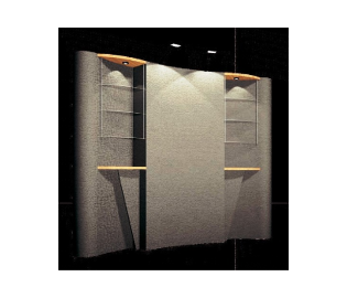 Easy ST is a collection of lightweight, portable fabric panel 10' and 20'