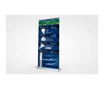 <p>Abex Complete Banner Stands</p>